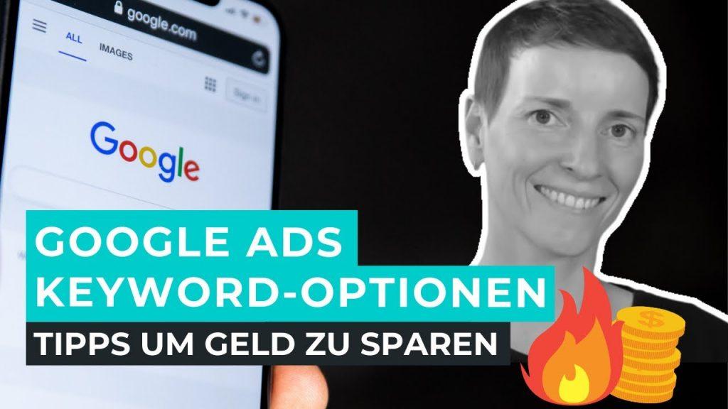 google ads keyword optionen - google adwords match types